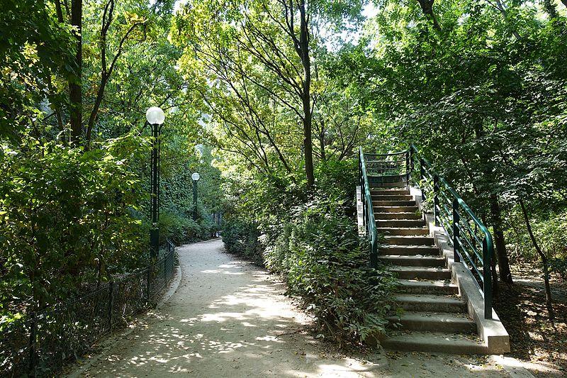 """La """"Coulée Verte"""" à Paris, traverse tout le 1éème arrondissement (crédit photo : René Dumont)"""